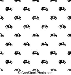 Scooter pattern, simple style - Scooter pattern. Simple...