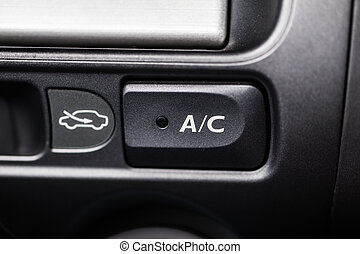 Car AC air conditioner button
