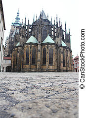St. Vitus Cathedral in Prague ,Czech Republic