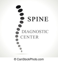 spine abstract shape - Illustration of spine abstract shape...