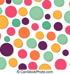cheerfulness concept background - Illustration of colorful...