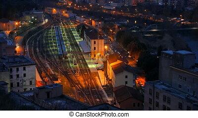 Station Tivoli. Italy