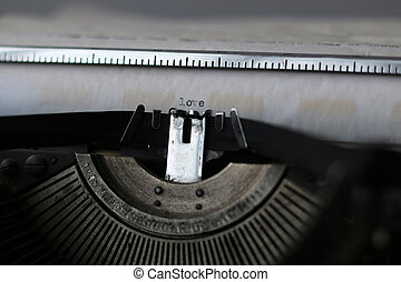 retro typewriter macro - Instruments employee news agency...