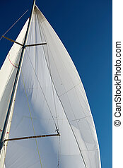 Rigging the symmetric spinnaker - Flying the symmetric...