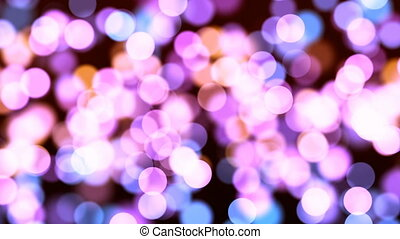 HD Loopable Background with nice colorful bokeh
