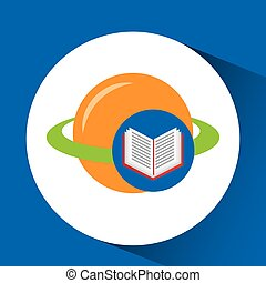 concept school book science