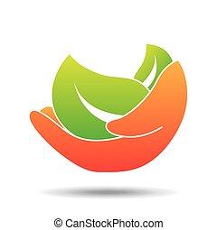 nature ecological symbol icon design