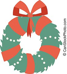 Christmas branch vector illustration. - European christmas...