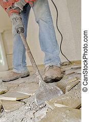 Smashing tiles