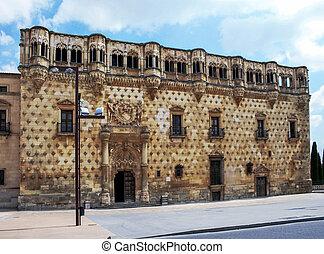 """Palace in Guadalajara - Palace """"Palacio del infantado""""XV..."""