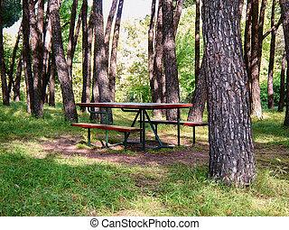 """Casa de Campo - Old royal park """"Casa de Campo"""" in Madrid,..."""
