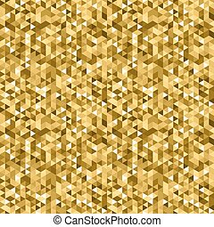 Vector gold geometric background