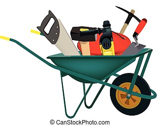 transport wheelbarrows accessories and construction tools
