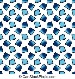 Abstract blue vector background with texture tiles