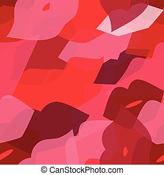 Seamless vector illustration with lips. Kissing background...