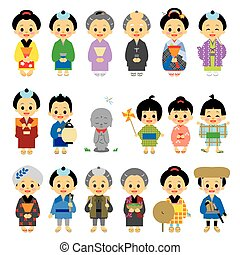 People of Edo period Japan 01 - People of Edo period Japan,...