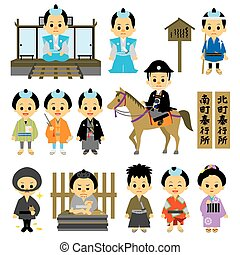 People of Edo period Japan 04 magistrate's office - People...