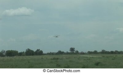 air plane in Kenya Botswana savannah Africa