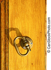in the ternate door curch closed wood italy lombardy - in...