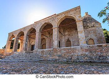 Church Transfiguration of the Lord - inside the Neokastro...