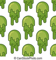 Snot-51.eps - Snot seamless pattern. Snivel ornament. Booger...