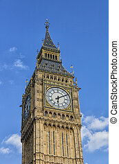 Big Ben tower in London Parliament