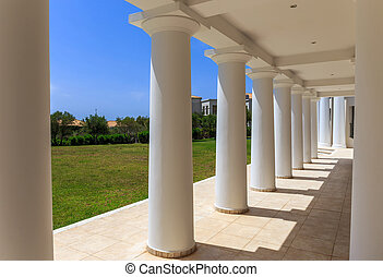 greek neoclassical architecture building