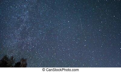 Many stars. UltraHD (4K)