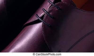 New brown leather bespoke mens boots - Pair of new classic...