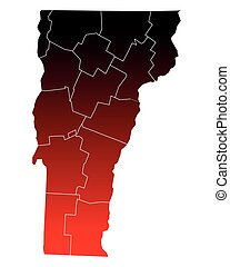 Map of Vermont