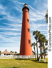 Ponce de Leon lighthouse, Daytona Beach, Florida.