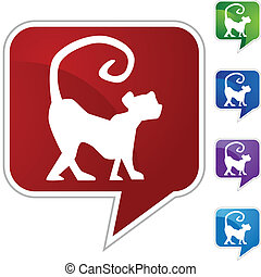 Chinese Zodiac Sign Icon - Chinese zodiac sign animal...