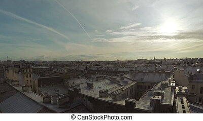 View from old town rooftops - RUSSIA, SAINT PETERSBURG,...