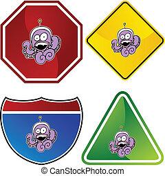 Octopus Alien