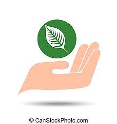 environment friendly concept nature vector illustration eps...