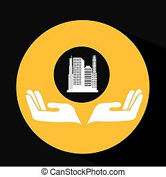 environment friendly city concept vector illustration eps 10