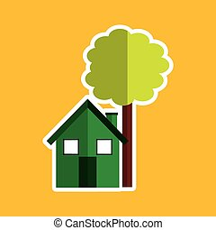 green house tree ecological design