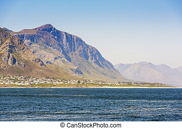 Seaside Town South Africa - Hermanus seaside township and...