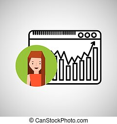 character hand draw website icon vector illustration eps 10