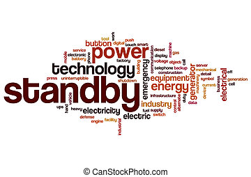 Standby word cloud