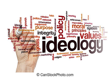 Ideology word cloud concept - Ideology word cloud