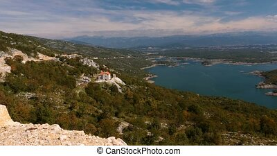 Beautiful View On Slansko Jezero, Montenegro