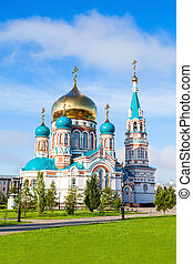 The Dormition Cathedral, Omsk - The Dormition Cathedral...
