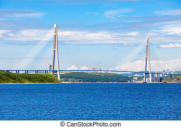 Russky Russian Bridge, Vladivostok - The Russky or Russian...