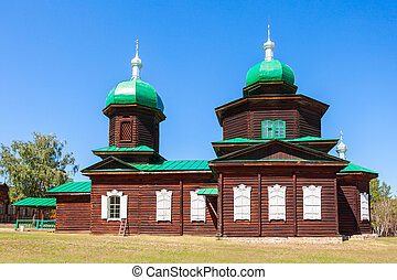Ethnographic Museum in Ulan-Ude - Church of St. Nicholas is...