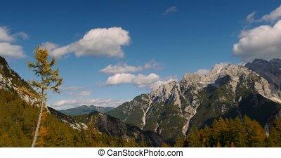 Kranjska Gora Mountains, Robicje, Slovenia