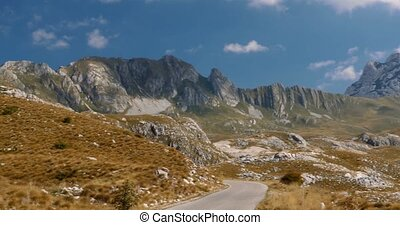 Long Pan On Durmitor Mountains, Montenegro