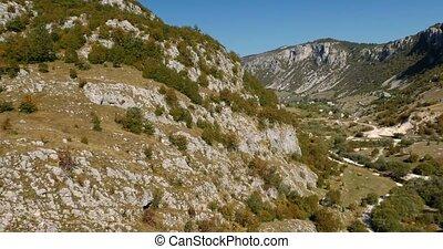 View On Nividio Canyon, Montenegro