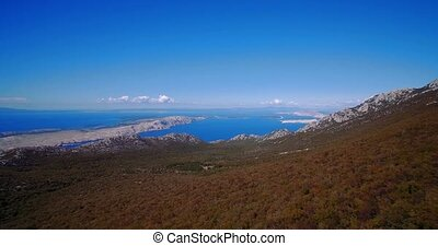 Aerial, View On Beautiful Croatian Coasts - Graded and...