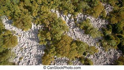 Aerial,Vertical Flight Along Croatian Coast-Line - Graded...